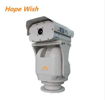 Optical Zoom Long Range Thermal Camera Outdoor For Railway Surveillance