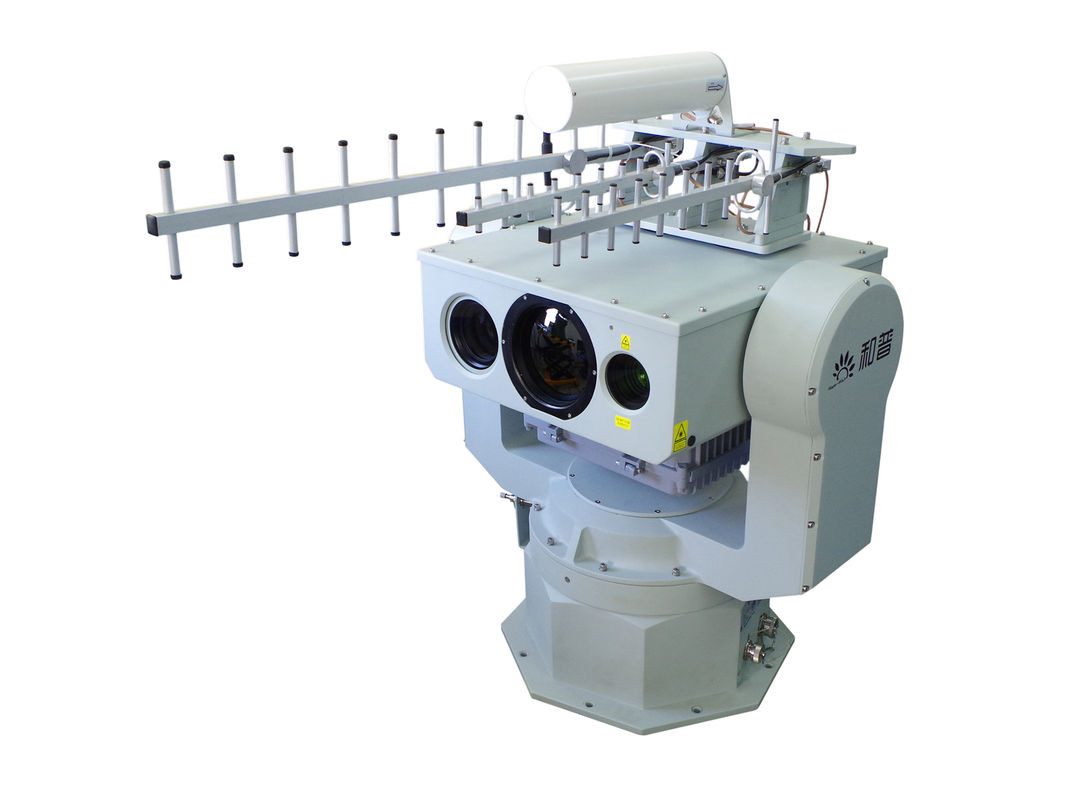 Border Surveillance Thermal Imaging Security Systems For Long Range Radar Linkage